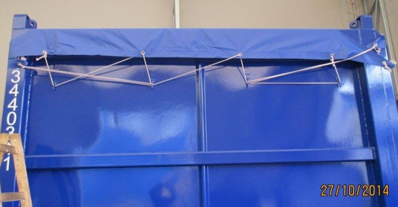 tarp-on-offshore-container